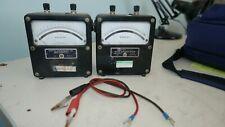 2x Vintage Weston 0 3 Vdc Test Meters