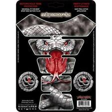 LETHAL THREAT Protector Deposito Moto Tanque Whitesnake