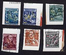Historical Figures Used Postage German & Colonies Stamps