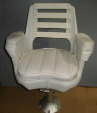 Todd 2000 Sportfishing Chair With PVC Back Aluminum Pedestal and Slide 20749