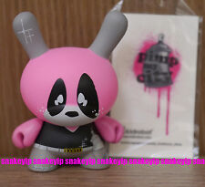 """Kidrobot 3""""Dunny Me! I'm French 2008 Series Nasty Pimp My City Vinyl AS IS"""