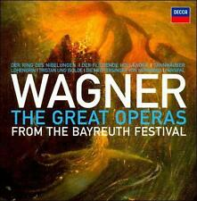 NEW Wagner: The Great Operas from the Bayreuth Festival (Audio CD)
