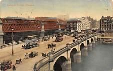 Glasgow Jamaica Bridge Tram Cable Car River Pont