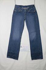 Levi's LOT 921 usato (Cod.D2024) W30 L32 denim jeans dritto donna vita bassa