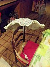 Ancienne Ombrelle Landau Couffin Berceau Parasol Parapluie Vintage 1950 à 1970