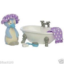 Tatty Nounours et Mon Amis Au Nez Bleu Pingouin Meubles Set Chilly Salle de bain