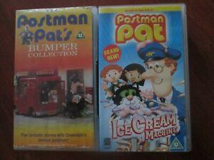 Postman Pat's Bumper Collection /Ice Cream Machine  VINTAGE RETRO BBC VHS VIDEOS
