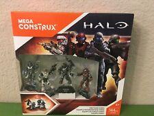 Mega Bloks Construx Halo 5 Fireteam Osiris Spartan VALE LOCKE BUCK TANAKA DYH88