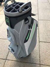 BNWT Taylormade Ladies Cart Lite Bag - Grey, White & Lime Green