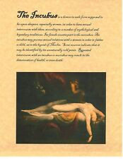 Book of Shadows Spell Pages ** The Incubus ** Wicca Witchcraft BOS