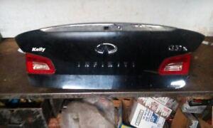 09-13 Infiniti G37 4 Door Sedan Trunk/Hatch/Tailgate