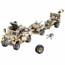 Military Truck Car Vehicles Building Blocks Figures Bricks Models sets Toys