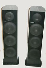 Pioneer SP-FS51-LR Stereo Floor Speakers 3-Way Dual 5-1/4 Woofer 130W Working VG