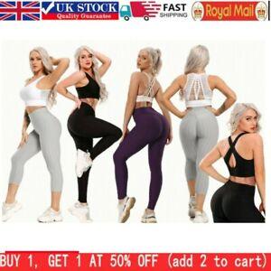 Tik Tok Women Anti-Cellulite Compression Push Up Yoga Pants Fitness Leggings