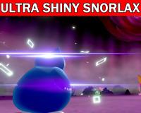 Pokemon Sword & Shield 6IV Snorlax Ultra Shiny Gigantamax Battle Ready!