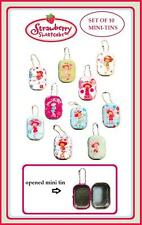 Strawberry Shortcake complete set of 10 mini-tins  vending toys