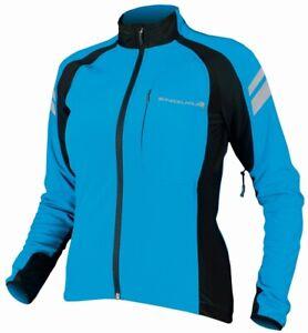 Endura Windchill Cycling Jacket Small Ultramarine Blue Waterproof Thermal BNWT