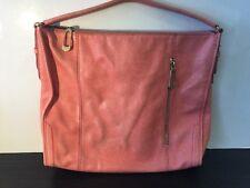 T TAHARI Peach Purse Tote Shoulder Bag Handba