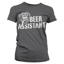 Officially Licensed Gas Monkey Garage- Beer Assistant Women's T-Shirt S-XXL Size