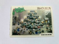 VINTAGE STAMP💎1981💎5 cent Disney :The Night Before Christmas Anguilla #456💎