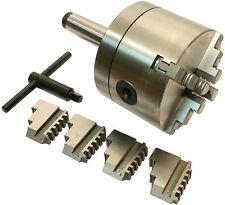 22665 GG-Tools Vierbackenfutter 125mm Aufnahme MK4 Drehfutter