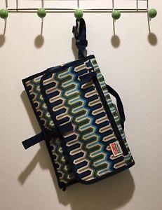 SKIP HOP Pronto Jonathan Adler Changing Pad Station Clutch Travel Bag Diaper Bag