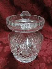 Waterford Crystal Alana: Jam, Jelly, or Preserve Jar with Lid, As Is, 4 3/4""