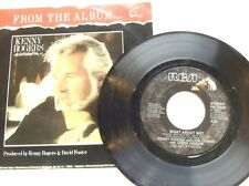 "KENNY ROGERS, KIM CARNES, JAMES INGRAM 45 RPM ""What About Me?"" NM cond"