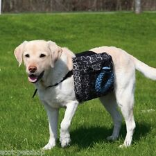 Dog Travel Saddle Bag Dogs Pannier Walk Rucksack Large