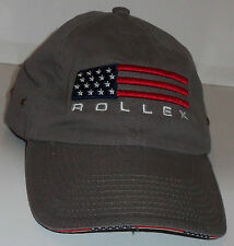 NEW!  MENS ROLLEX BUILDING PRODUCTS BROWN TRUCKER /  BASEBALL CAP / HAT