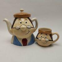 Official Tetley Tea The Gaffer  3D Ceramic Face Mug & Teapot Kimm & Miller Ltd