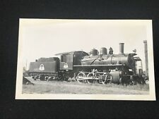 Antique Greater Winnipeg Water District Railroad Train Locomotive No. 5 Photo