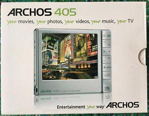 Archos 405 2 GB DVR Tablet - Portable Media Player - Silver (500954) NEW IN BOX!