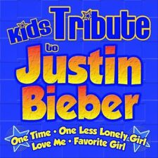 Kids Tribute to Justin Bieber, CD, 2010, New, (Songs Performed by Hitmasters)