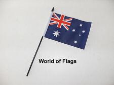 "Australia Small Hand Waving Flag 6"" X 4"" Australian Oceania Crafts Table Display"