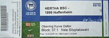 TICKET 2009/10 Hertha BSC Berlin - 1899 Hoffenheim