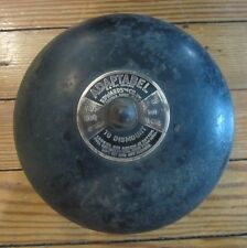 Old ADAPTABEL FIRE ALARM BELL Fire Emergency School Bell Edwards & Co Norwalk Ct