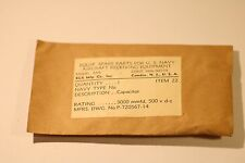 RADIO PARTS U.S NAVY AIRCRAFT RECEIVING EQUIPMENT ARB CONT.NOs.98559 ITEM 22