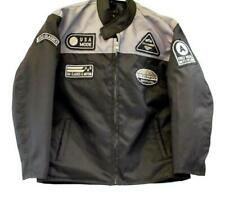 motorcycle kids jacket grey/black Usa mode motor usa classics size 12