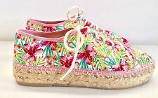 VIGUERA Plateau Espadrilles 39 Slipper Pink Rosa Freizeitschuhe Sneaker