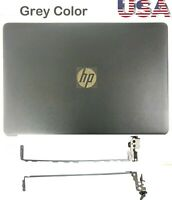 New HP 15BS 15-BS 15-BW Smoke Gray LCD Back Cover 924894-001+Hinges 925297-001