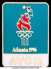 Olympic Pin Atlanta 1996 Avon Company Sponsor Partner