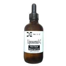 Ionic Liposomal Vitamin C Liquid | 72000mg • 4oz • 60 Servings • With Dropper