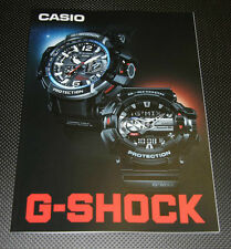CASIO G-SHOCK Japanese Brochure Catalog Oct 2014, 34 pages from JAPAN