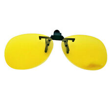 Polarized Clip On Spectacles Sunglasses Lens Fishing Night Driving UV400 Colored