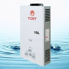 New 10L 2.6 GPM LPG Gas Propane Instant Tankless Hot Water Heater Boiler Bath