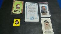 Jewish Judaica Rabbi Jerusalem Vintage Amulet against the Evil Eye with Blessing
