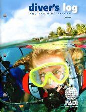 PADI Diver's Log Book w/ Training Record for Scuba