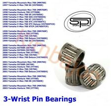 Yamaha 700 SX700R V-Max SX Venture Mountain Max Sleds Listed Wrist Pin Bearings
