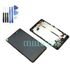 New Nokia Lumia 820 LCD Display Touch Screen Digitizer Glass Full +FRAME